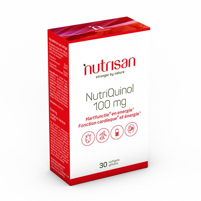 Image of Nutrisan NutriQuinol 100mg 30 Capsules