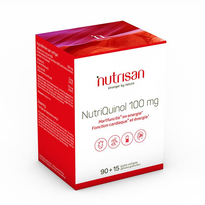 Image of Nutrisan NutriQuinol 100mg 90 + 15 Capsules Gratis