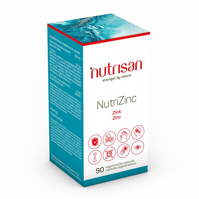 Image of Nutrisan Nutrizink 90 Capsules
