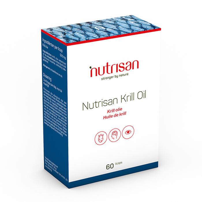 Image of Nutrisan Krill Oil 60 Licaps