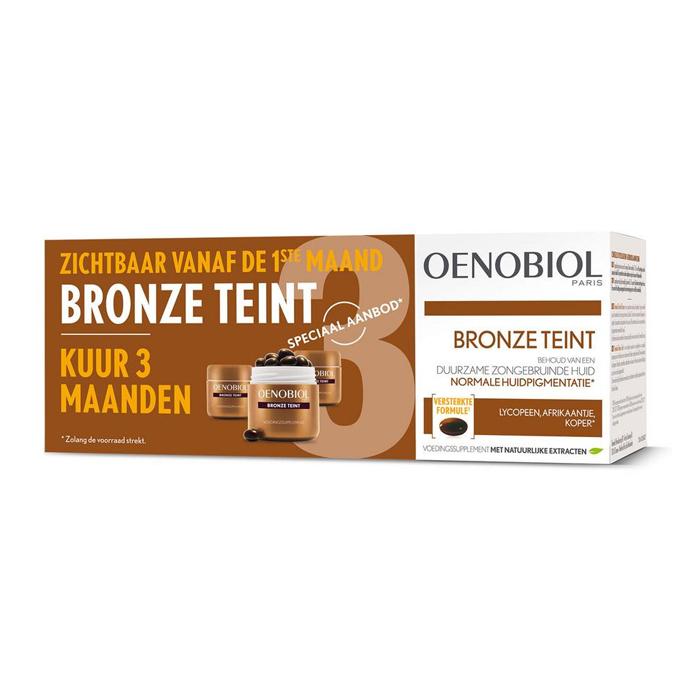 Image of Oenobiol Bronze Teint 3x30 Capsules