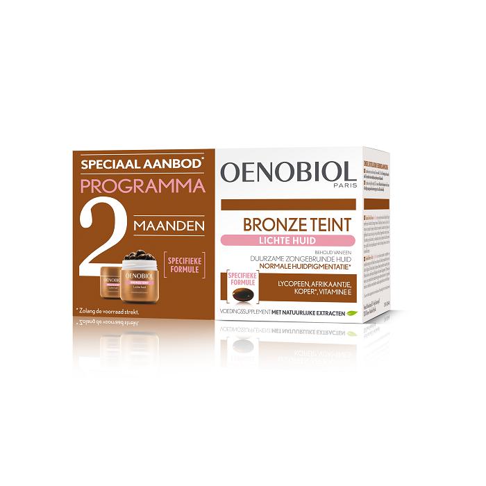 Image of Oenobiol Bronze Teint Lichte Huid 2x30 Capsules