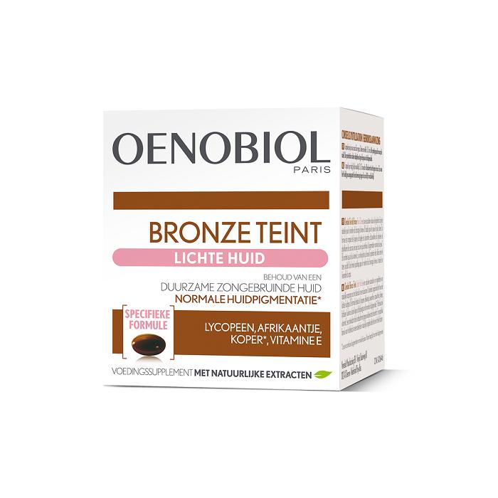 Image of Oenobiol Bronze Teint Lichte Huid 30 Capsules