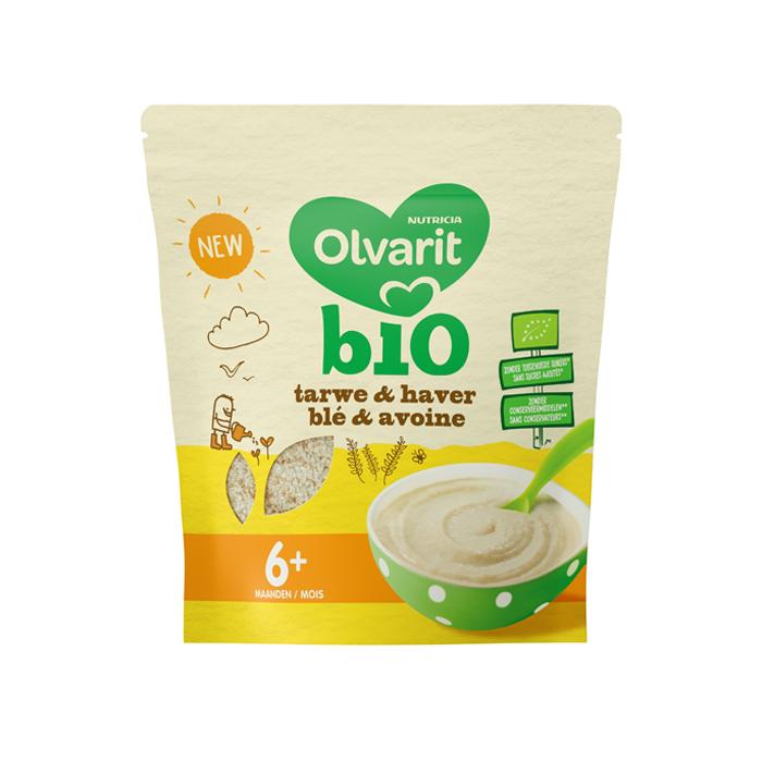 Image of Olvarit Bio Tarwe & Haver Zakje 180g