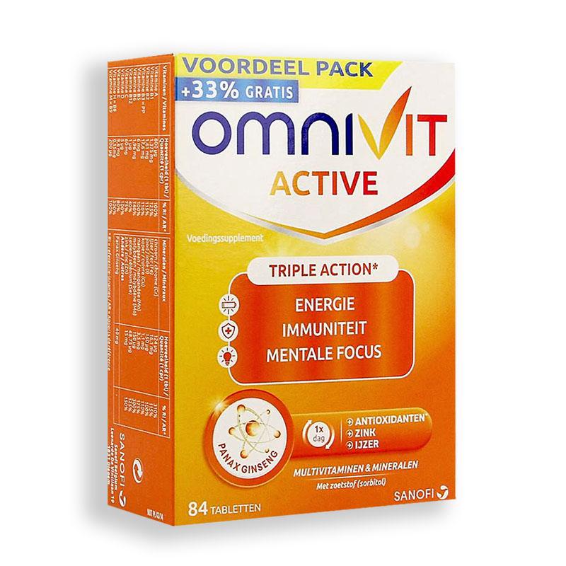 Image of Omnivit Active 84 Tabletten