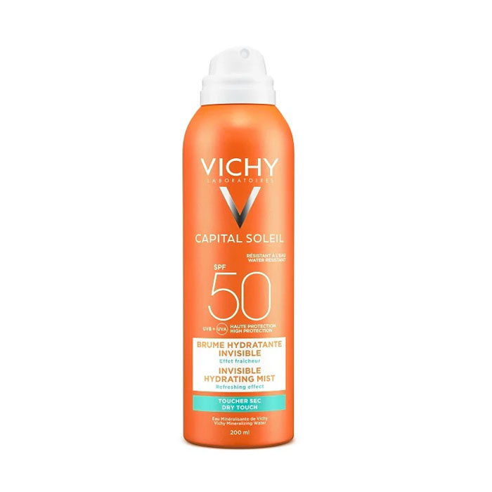 Image of Vichy Capital Soleil Onzichtbare Hydraterende Mist Spray SPF50 200ml