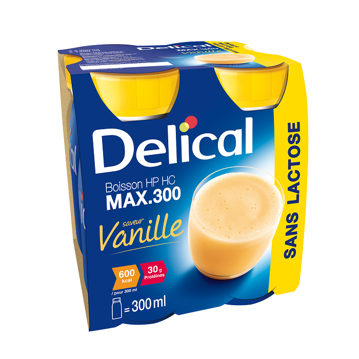 Image of Delical Max. 300 Vanille 4x300ml