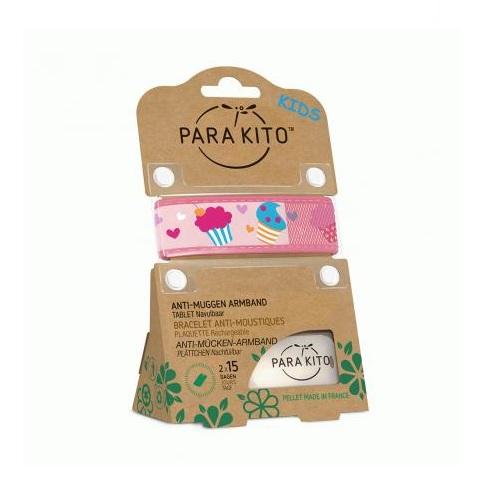 Image of Para'kito Kids Cupcakes Armband + 2 Vullingen
