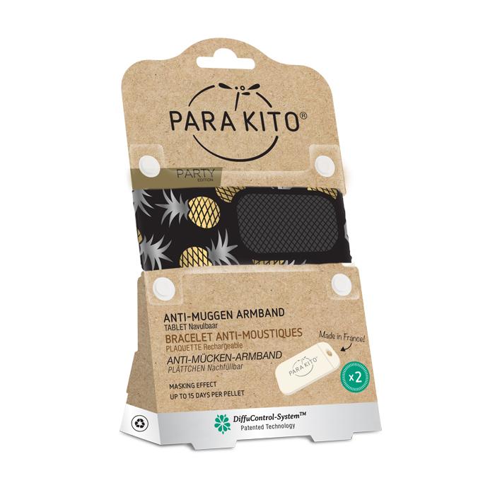 Image of Para'kito Anti-Muggen Armband Party Manille + 2 Vullingen