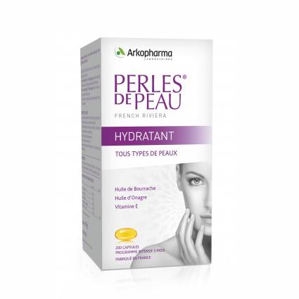 Image of Arkopharma Perles De Peau Hydraterende Huidparels 200 capsules