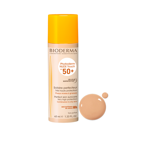 Image of Bioderma Photoderm Nude Touch Lichte Tint SP50+ 40ml