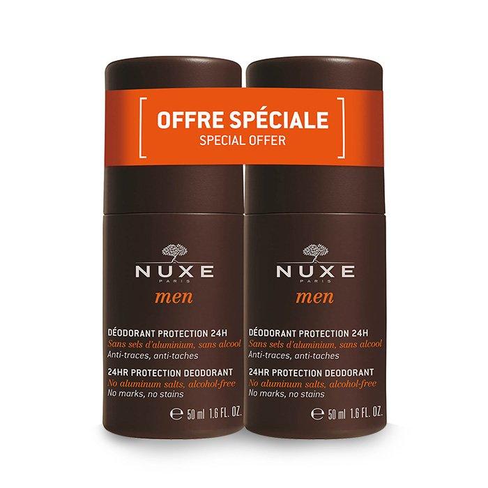 Image of Nuxe Men Deo Roller 24u Duo 2x50ml Promo 2e -50%