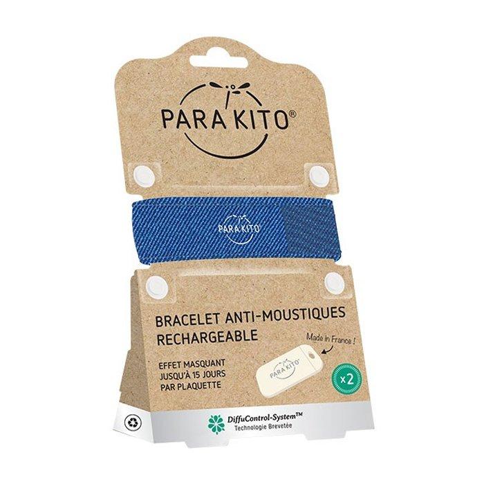 Image of Para'kito Anti-Muggen Armband Denim + 2 Navullingen