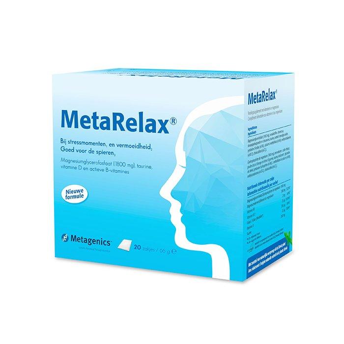 Image of MetaRelax 20 Zakjes