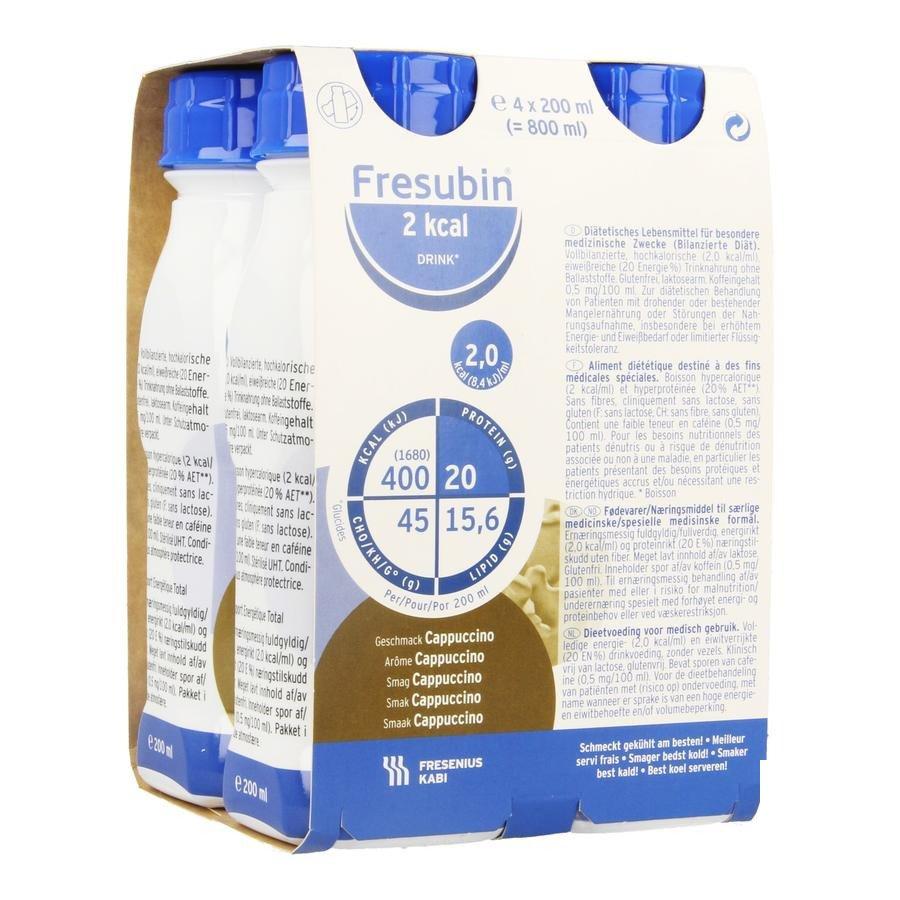 Image of Fresubin 2kcal Drink Cappuccino Easybottle 4x200ml