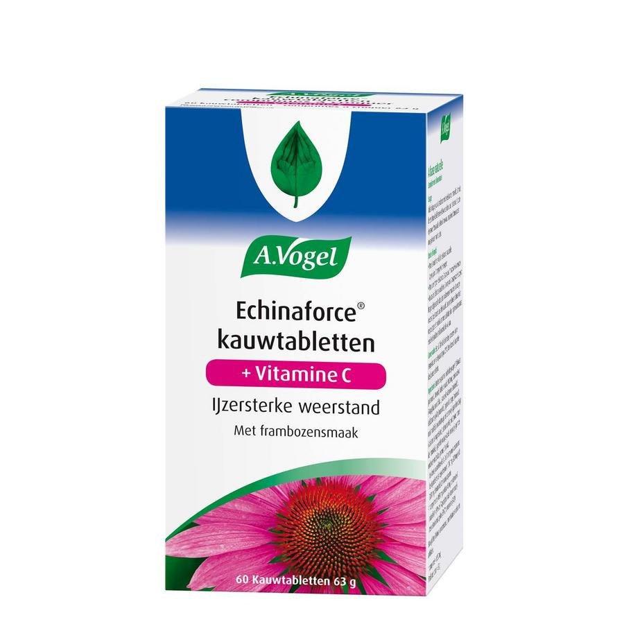 Image of A. Vogel Echinaforce + Vitamine C 60 Kauwtabletten