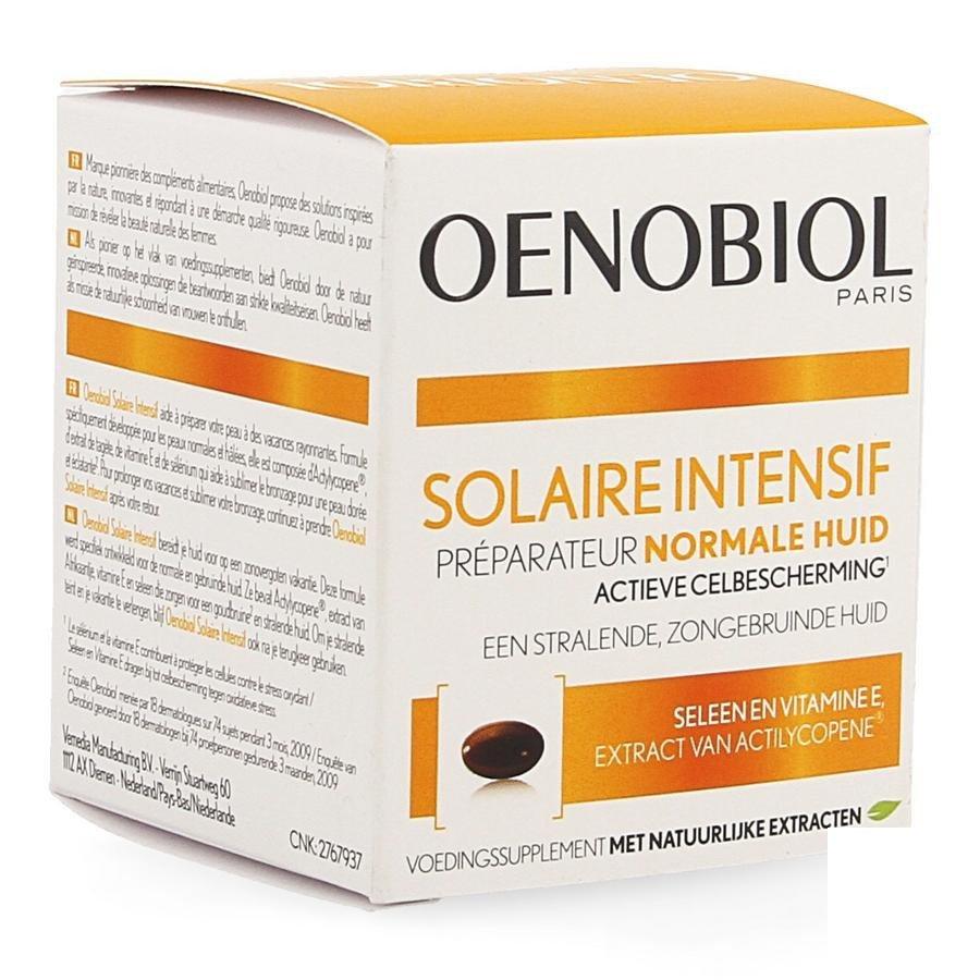 Image of Oenobiol Solaire Intensif - Normale Huid 30 Capsules