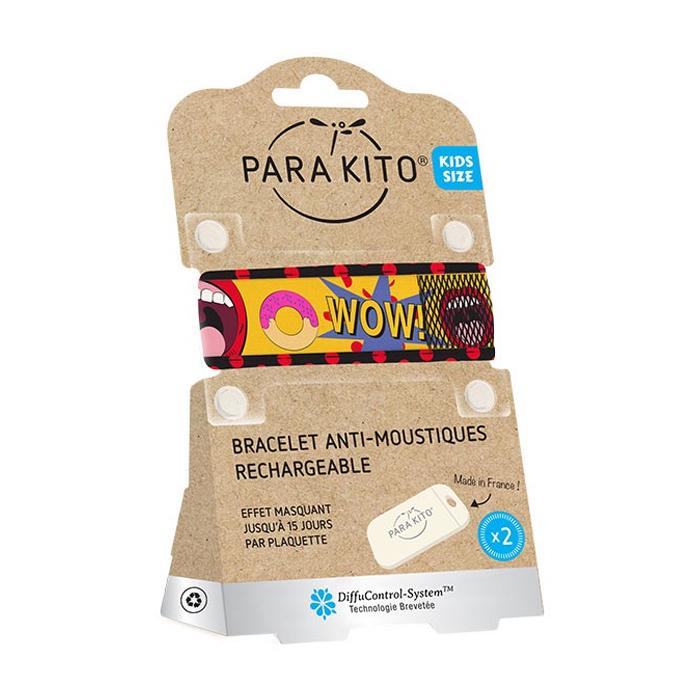 Image of Para'kito Kids/ Teens Anti-Muggen Armband Popart + 2 Navullingen