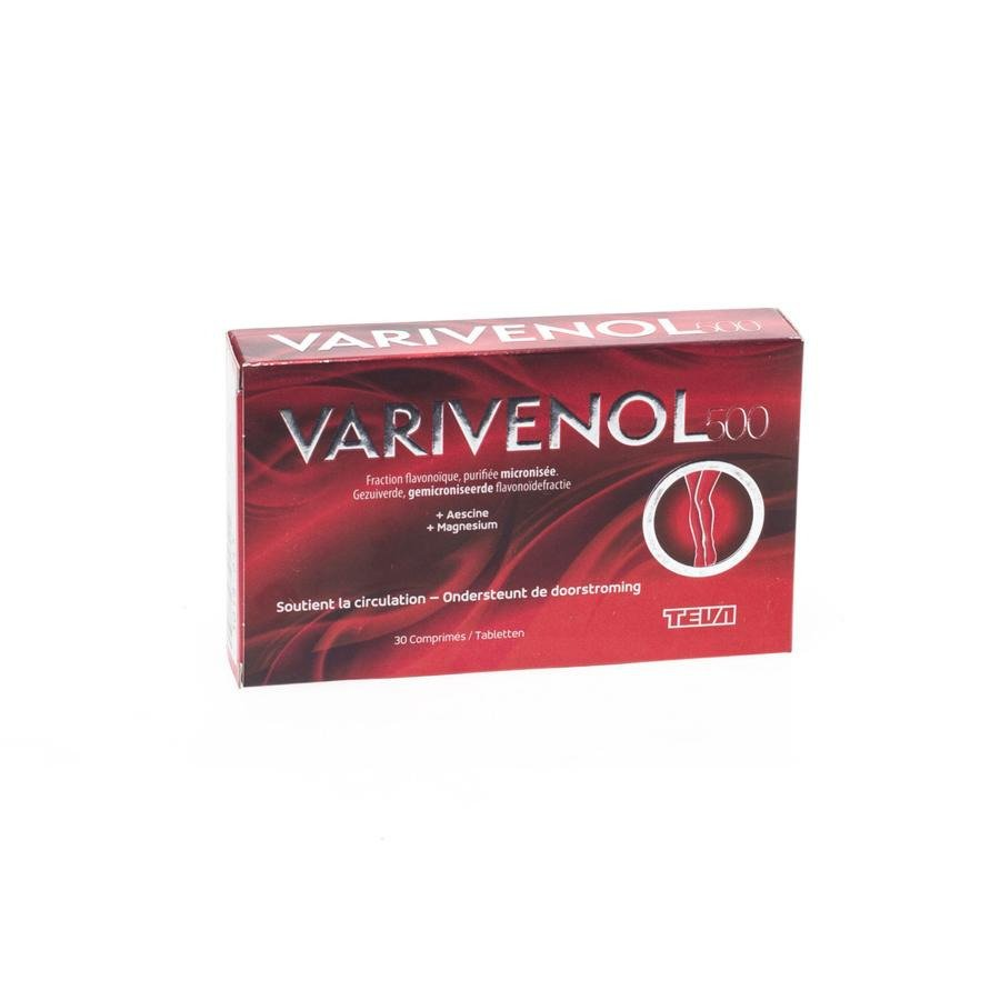 Image of Varivenol 500mg 30 Tabletten
