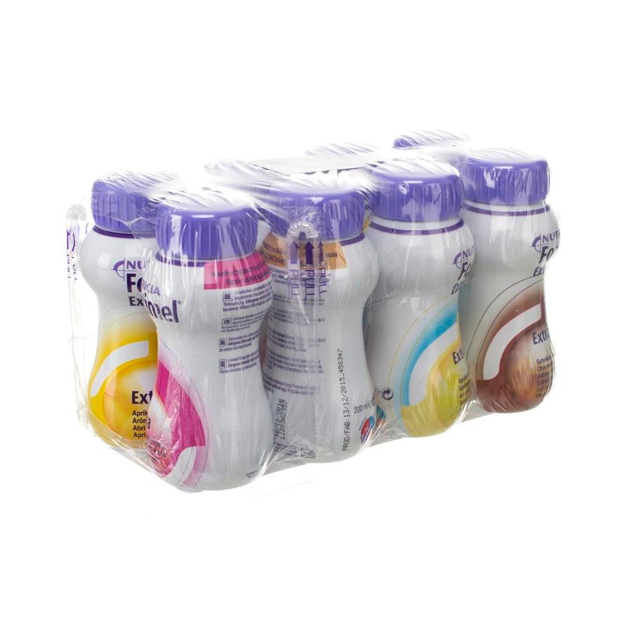 Image of Fortimel Extra Mixed Multipack 8x200ml
