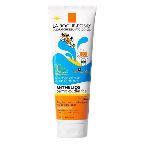 Image of La Roche Posay Anthelios Dermo-Pediatrics Wet Skin Gel Lotion SPF50+ 250ml
