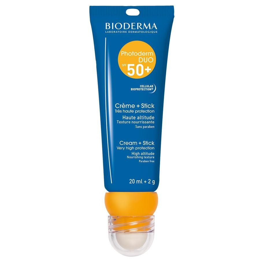 Image of Bioderma Photoderm Duo SPF50+ Crème 20ml + Stick 2g