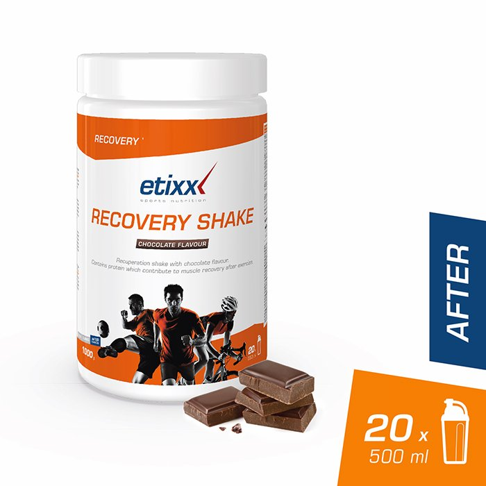 Image of Etixx Recovery Shake Chocolate 1kg