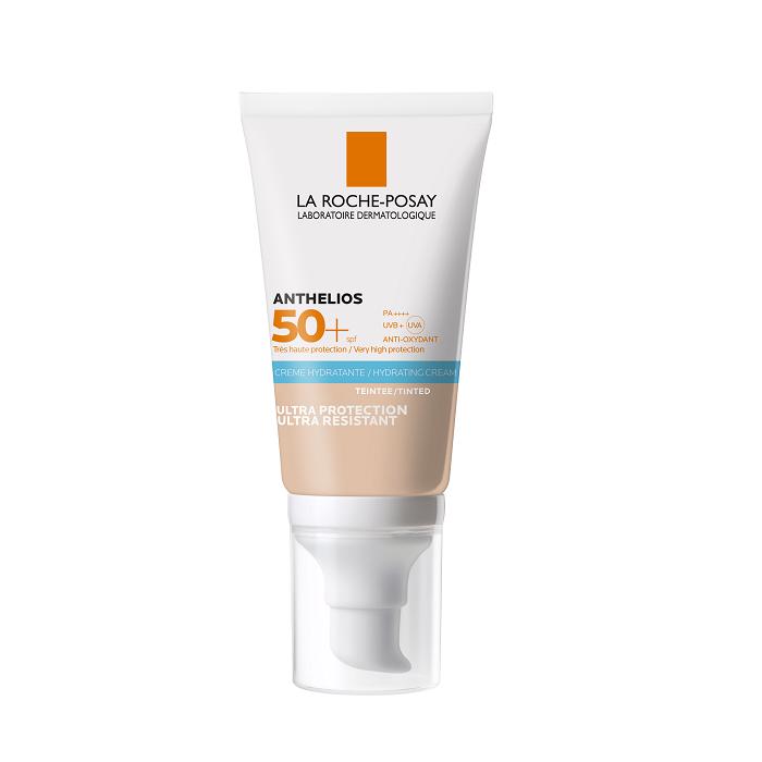 Image of La Roche Posay Anthelios Hydraterende Getinte Zonnecrème Met Parfum SPF50+ 50ml