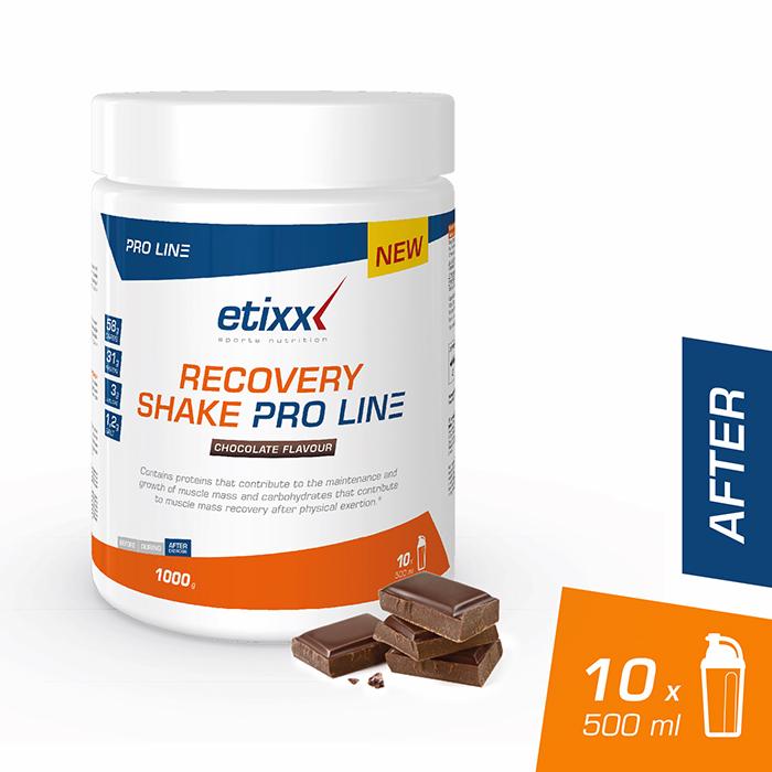 Image of Etixx Recovery Shake Proline Chocolade 1000g