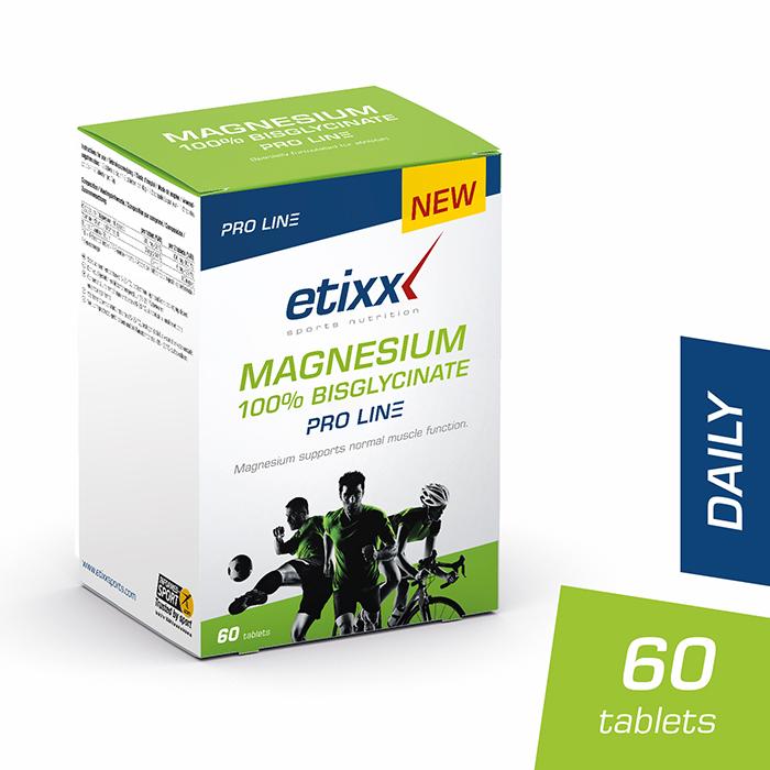 Image of Etixx Magnesium 100% Bisglycinate Pro Line 60 Tabletten