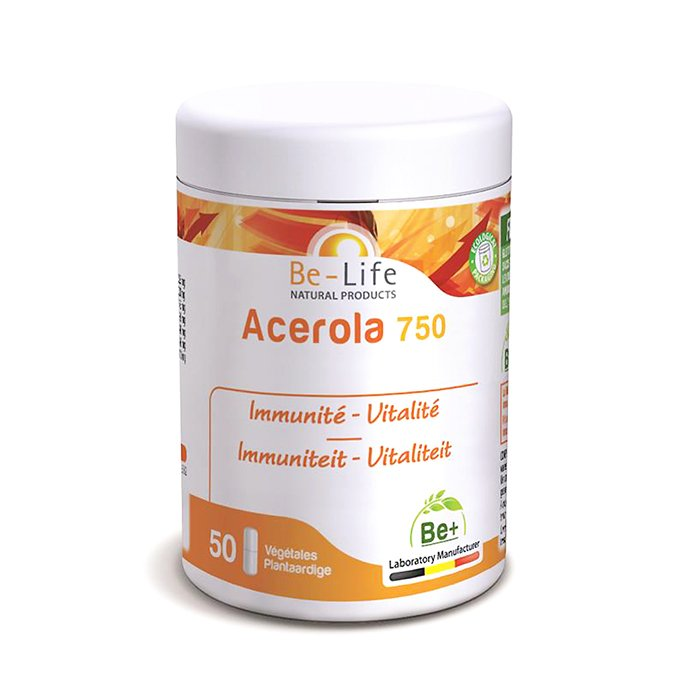Image of Be-Life Acerola 750 50 Capsules