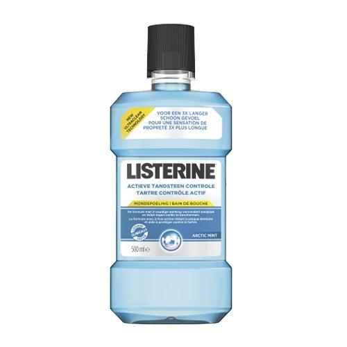 Image of Listerine Actieve Tandsteen Controle Mondspoeling 500ml