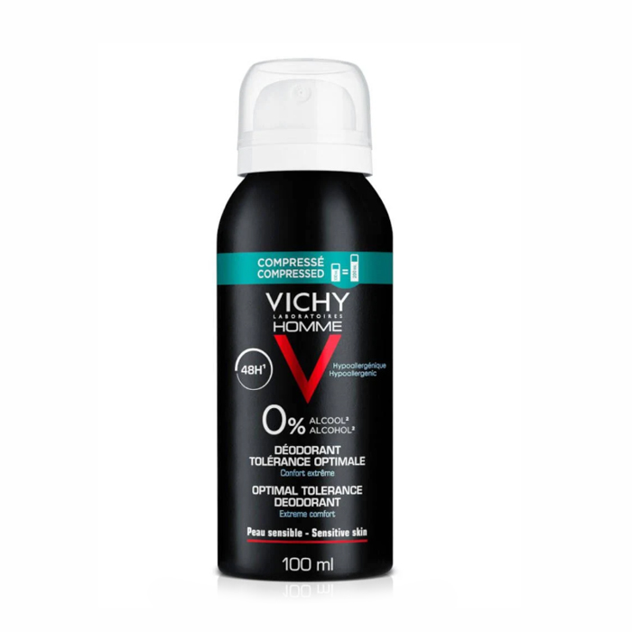 Image of Vichy Homme Deodorant 48u Optimale Tolerantie 100ml