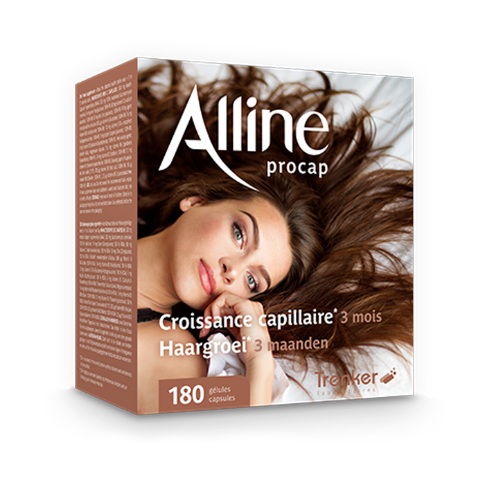 Image of Alline Procap Haargroei 180 Capsules