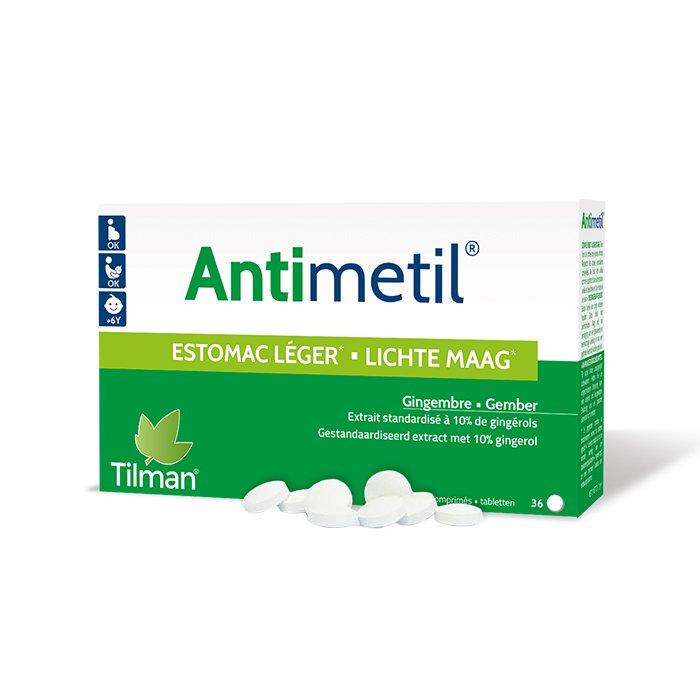 Image of Antimetil Lichte Maag 36 Tabletten