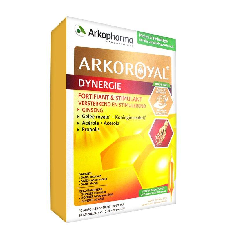 Image of Arkoroyal Dynergie 20 Ampullen