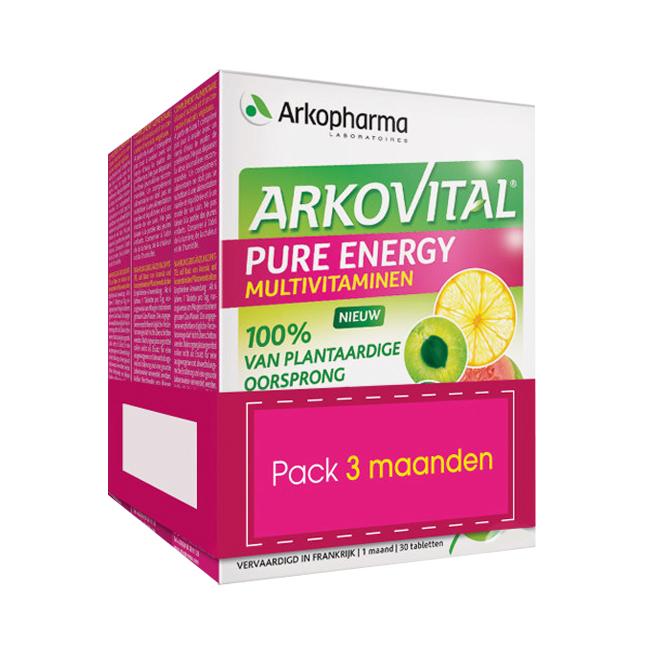 Image of Arkovital Pure Energy 90 Tabletten Promopack 3 Maanden
