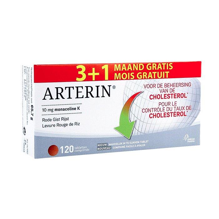 Image of Arterin 90 Tabletten + Promo 30 Tabletten GRATIS