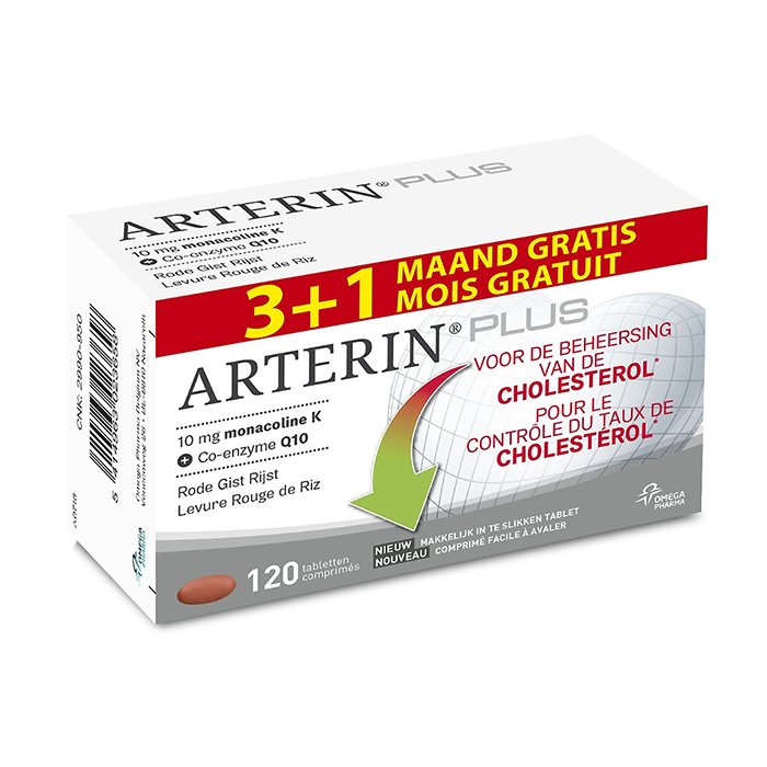 Image of Arterin Plus Promo 90 + 30 Tabletten GRATIS