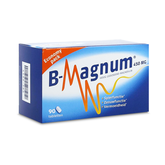Image of B-Magnum 450mg 90 Tabletten