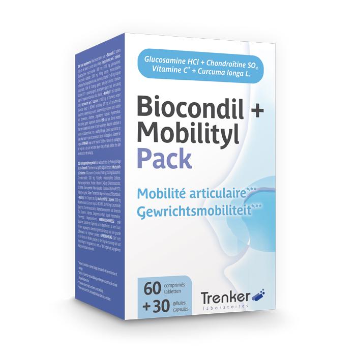 Image of Biocondil 60 Tabletten + Mobilityl 30 Capsules