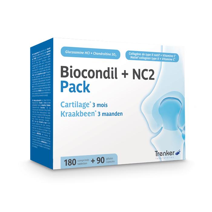 Image of Biocondil 180 Tabletten + NC2 90 Capsules