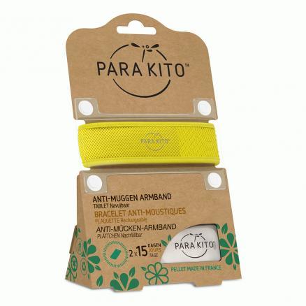 Image of Para'kito Anti-Muggen Armband Geel + 2 Navullingen