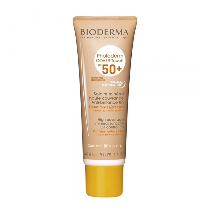 Image of Bioderma Photoderm Cover Touch SPF50+ Gouden Tint 40g