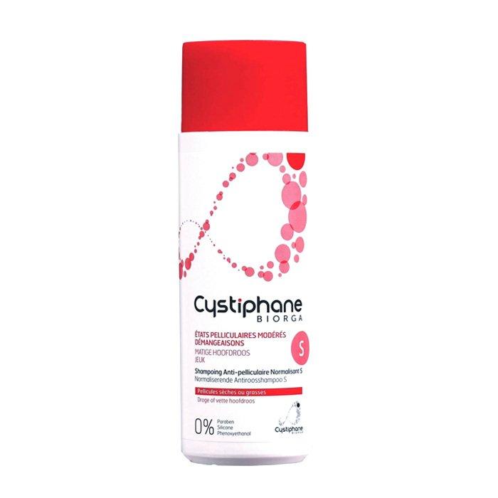 Image of Cystiphane Biorga Normaliserende Anti-Roos Shampoo S 200ml