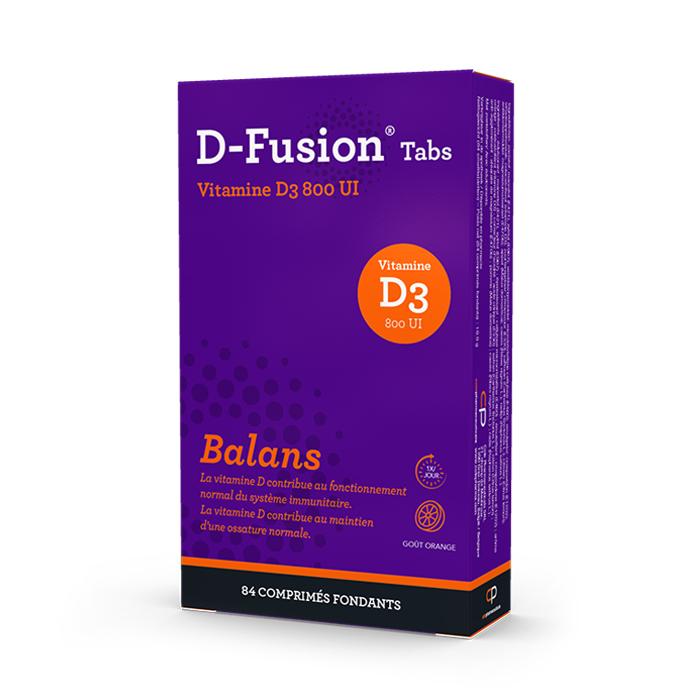Image of D-Fusion Balans 800IE 84 Smelttabletten