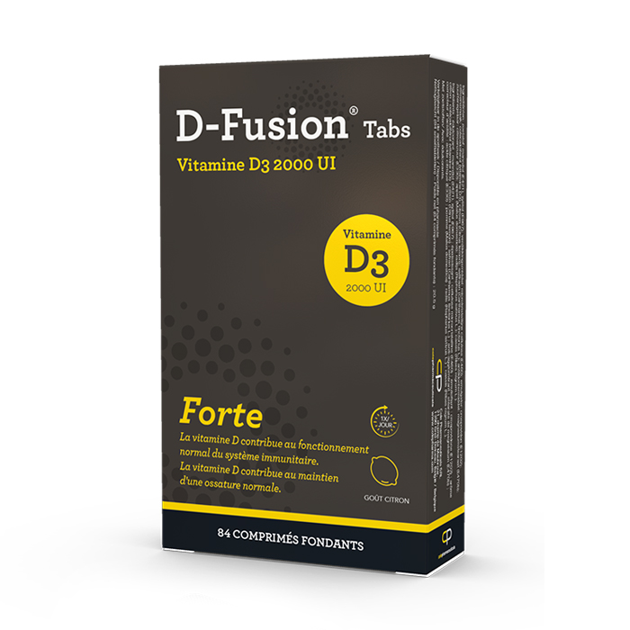 Image of D-Fusion Forte 2000IE 84 Smelttabletten