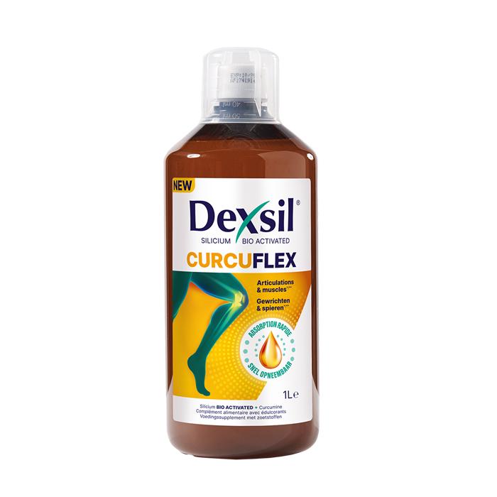 Image of DexSil Curcuflex Gewrichten & Spieren - Drinkbare Oplossing 1L