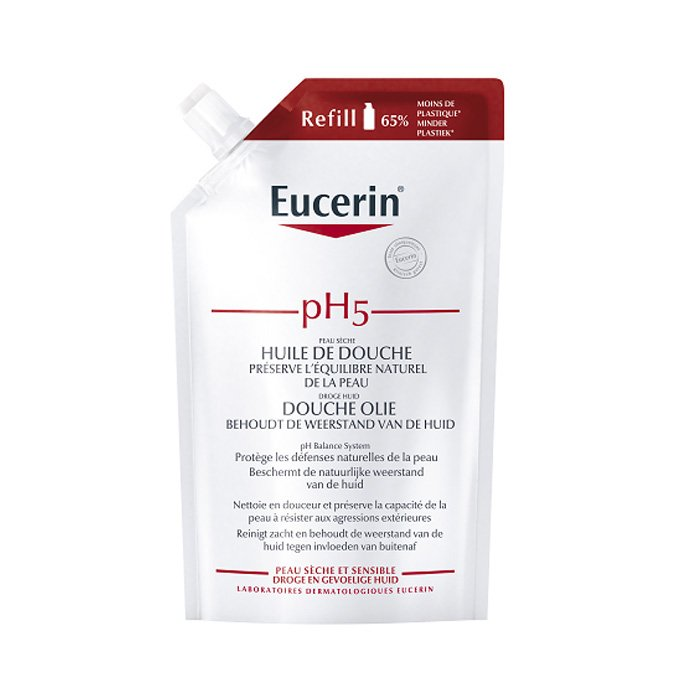 Image of Eucerin pH5 Douche Olie Navulling 400ml
