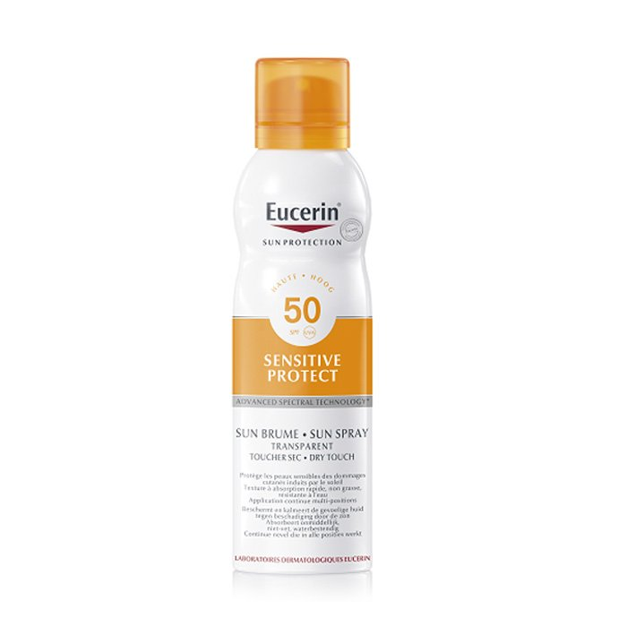 Image of Eucerin Zon Invisible Mist Dry Touch SPF50+ 200ml